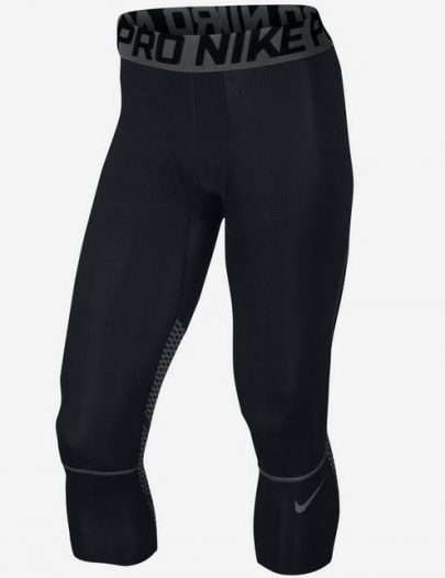 Кальсоны Nike Pro Hypercool Three-Quarter Men's Tights